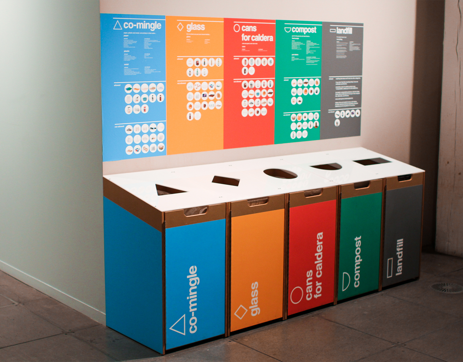 W+K Recycling Bins